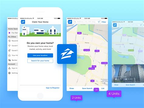 zillow design app how to make a real estate app like zillow and trulia
