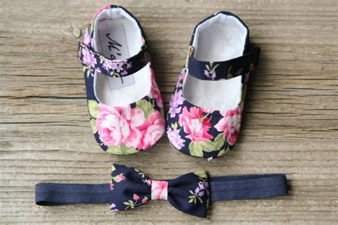 navy baby shoes navy baby shoes navy floral baby shoes pink flower baby