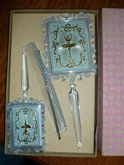 Vintage Brush And Mirror Dresser Set by 511 Best Vanity Sets Held Mirrors Images On