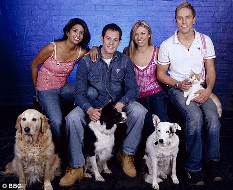 meet new blue peter dog barney, a former stray   daily