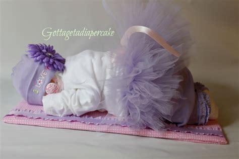 Sleping Bag Baby Balerina ballerina tutu diapercake sleeping by