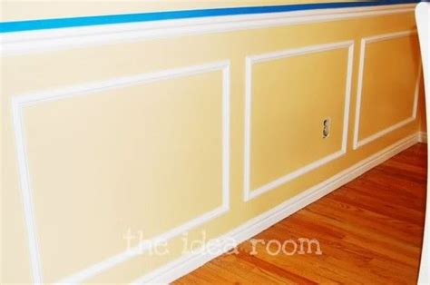 Make Your Own Wainscoting Faux Wainscoting Pictures And Easy Diy On