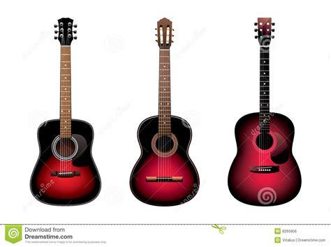 imagenes de guitarras rojas tres guitarras ac 250 sticas