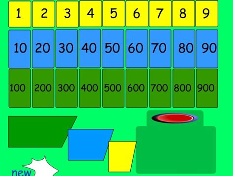 pattern ict games 74 best images about place value interactive games and