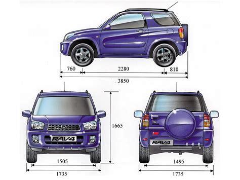 Toyota Rav4 Size Tutorials3d Blueprints Toyota Rav4