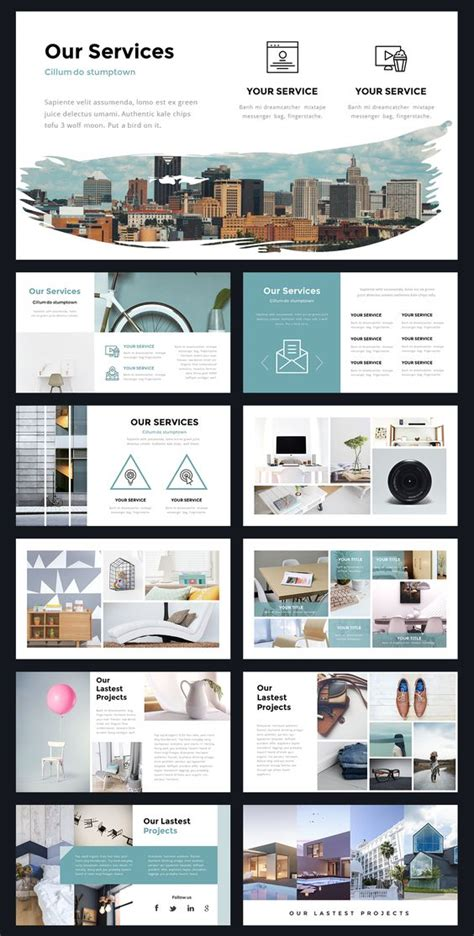 templates powerpoint pinterest portal modern powerpoint template by thrivisualy on
