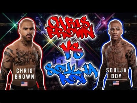 soulja boy vs chris brown mypark celebrity 1v1 rematch