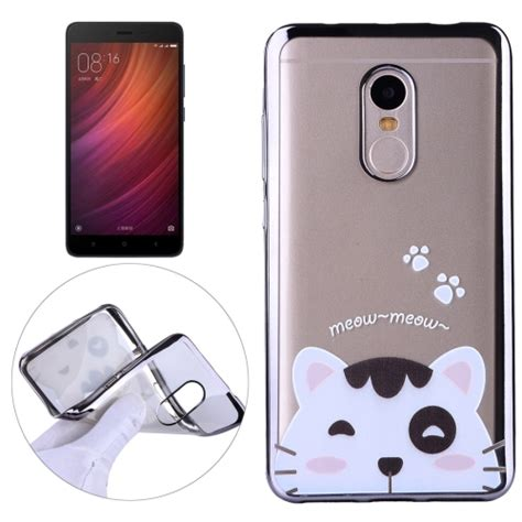 Motif Carbon Motif Vivo V7 Soft Casing Armor Vivo V7 Biasa sunsky xiaomi redmi note 4 lovely cat pattern electroplating frame soft tpu protective