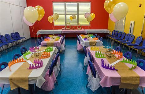 5 day room rental children birthday venues miami