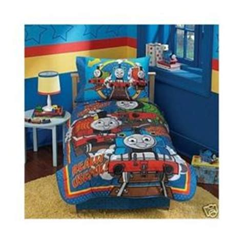 thomas the train toddler bedding set thomas the train 5 piece toddler bedding set ebay