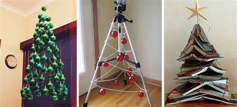 Handmade Tree Ideas - recycled handmade decor innovative crafts