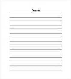 Lined Paper Template by Lined Paper Template 12 Free Word Excel Pdf Documents