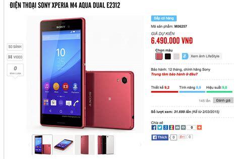Hp Sony Xperia M4 Aqua Dual Terbaru sony xperia m4 aqua dual gi 225 6 49 triệu b 225 n ra cuối th 225 ng 5 hoặc th 225 ng 6 tinhte vn