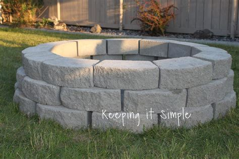 diy pit with pavers 13 diy pits for a backyard out of a