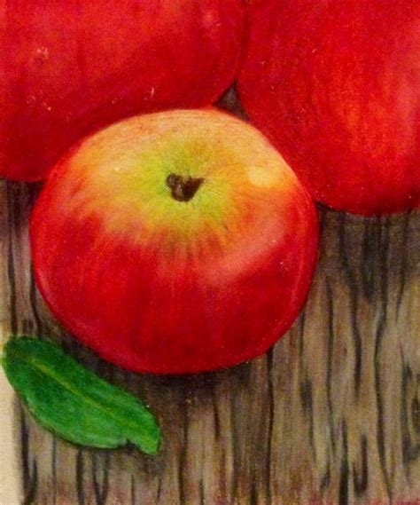 colored apple 17 best images about colored pencil apples on