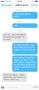 Lebron james phone number celebrity phone numbers