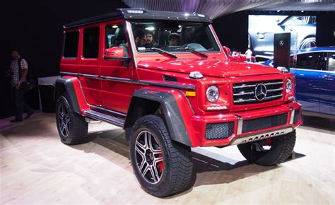 Mercedes G550 4x4 is a Badass Off Roader That Doesn't Come