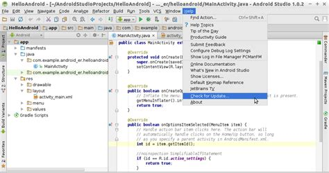android studio tutorial beginner pdf android er update android studio