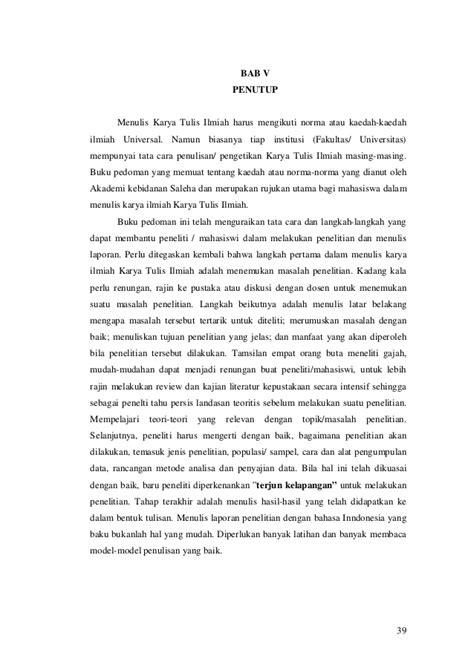 Buku Panduan Menulis Ptk Dan Karya Tulis Ilmiah Untuk Guru Fita N Pr buku panduan karya tulis ilmiah akademi kebidanan saleha banda aceh t