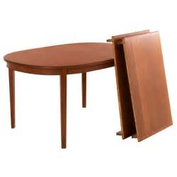 Oval Extendable Dining Table Extendable Oval Dining Table In Teak At 1stdibs