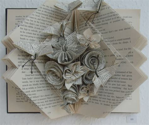 Paper Folding Books - folded book janet haigh work