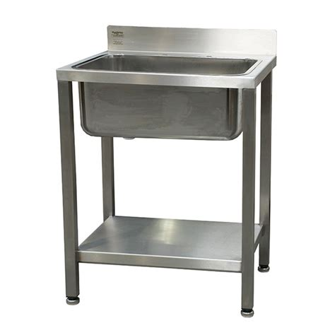 freestanding bathroom sinks stainless steel freestanding sink with backsplash