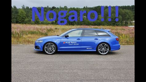 Audi Rs6 Ps by Nogaro Blue Audi Rs6 Performance 605 Ps Sound Accelration