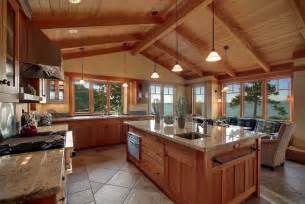 Open Concept Ranch Floor Plans by Craftsman Kitchen With Wall Sconce Amp Undermount Sink In