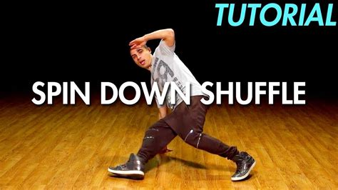 dance tutorial up and down how to do the spin down shuffle hip hop dance moves