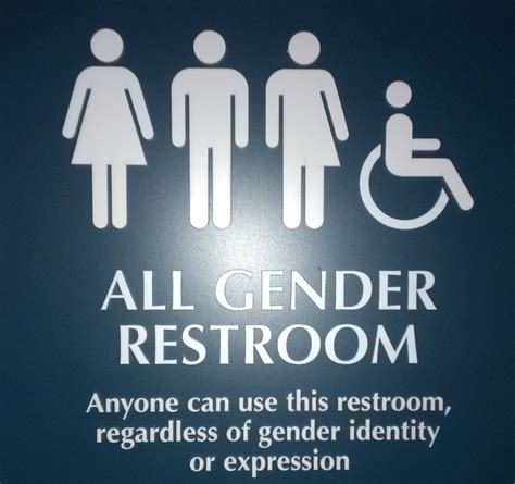 trans bathroom promoting a trans friendly environment manhattan digest