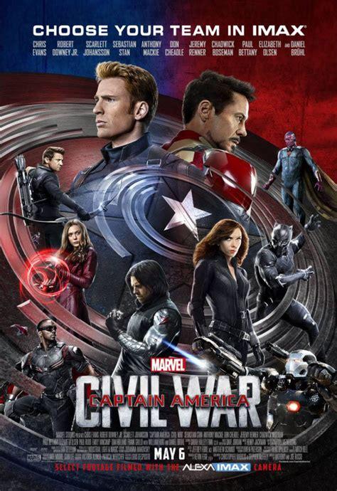 captain america civil war an imax 3d experience