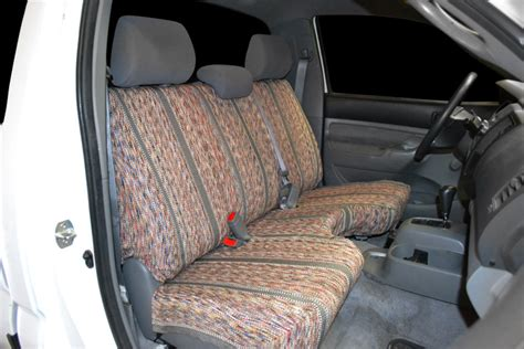 toyota tacoma bench seat covers saddle blanket seat covers seat covers unlimited