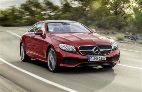 2018 mercedes e class coupe now available in the uk