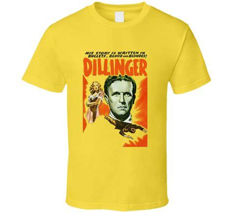 Tshirt Gangster Dillinger dillinger gangster tierney t shirt