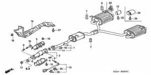 Honda Ridgeline Exhaust System Diagram Exhaust Pipe Honda Oem Parts 2006 Honda S2000 For 2dr S2000