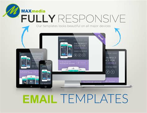 Max Media Group Custom Email Marketing Templates Design Company Orlando Florida 32832 Custom Email Marketing Templates