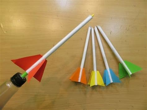 How To Make A Simple Paper Rocket - how to make a simple rocket launcher easy paper rocket