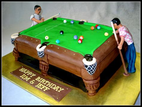 pool table cake vancouvercakes