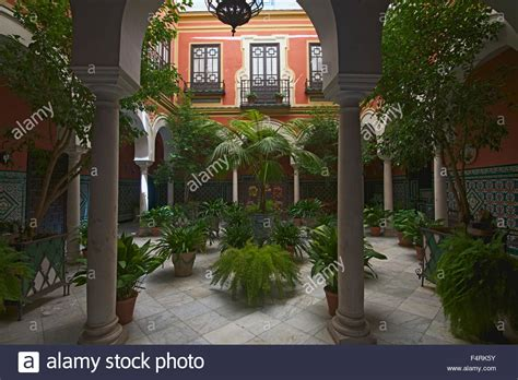 spanish house plans with inner courtyard andalusia spain europe outside day inner courtyard