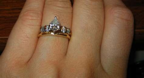 shanyal s my rings the wedding band with a bump at