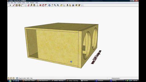 ram design ram designs sundown audio zv1 15 quot ported sub box design