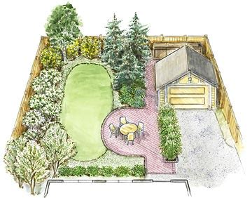 how to plan backyard landscaping a small backyard landscape plan
