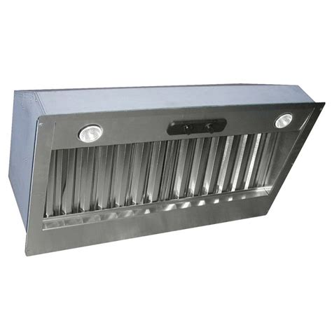 range insert air king pin300 stainless steel 32 quot 300 cfm single speed range insert ventingdirect