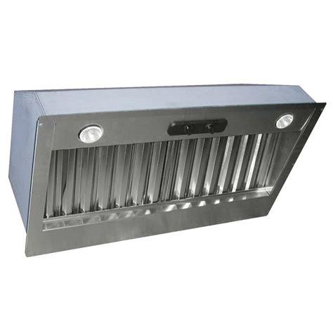 range exhaust fan insert air king pin300 stainless steel 32 quot 300 cfm single speed