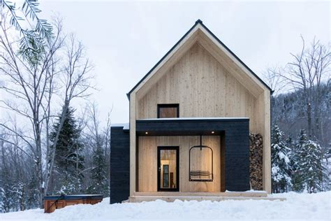 modern scandinavian house in canada residence design