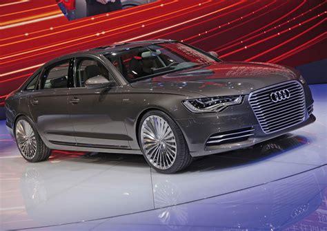 Audi A6 E Tron by Audi A6 L E Tron Plug In Hybrid Sedan Unveiled At Beijing