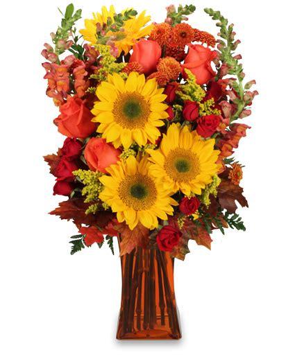 Fall Vase Arrangements by 4 Classic Thanksgiving Flower Arrangements