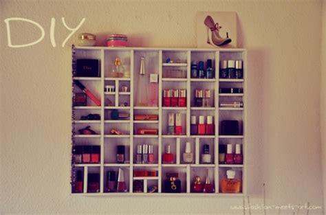 Nail Shelf Diy by Diy Nail Organizer Ideas Fashion News