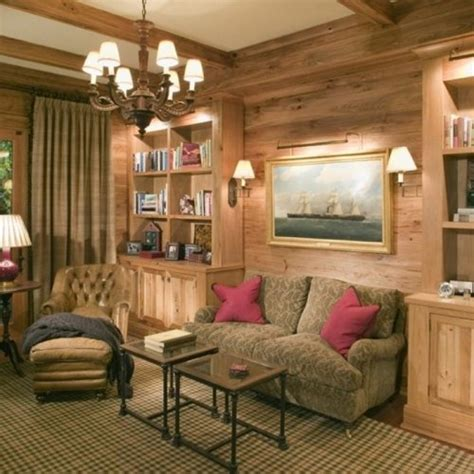 tv built  sitting room units  character oak