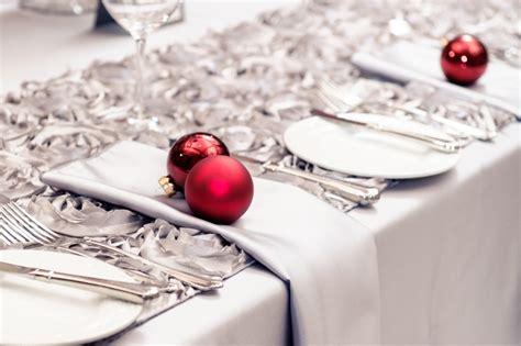 tischdeko weihnachten rot silber tischdekoration zu weihnachten mit 48 bildern als inspiration